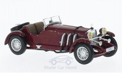 Modellino - <strong>Mercedes</strong> SSK, rosso-scuro, 1928<br /><br />WhiteBox, 1:43<br />n. 210278