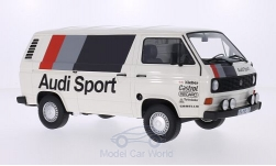 Modellauto - <strong>VW</strong> T3 Kasten, Audi Sport, 1980<br /><br />Premium ClassiXXs, 1:18<br />Nr. 210292