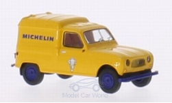 Modelcar - <strong>Renault</strong> R4 Fourgonnette, Michelin<br /><br />Brekina, 1:87<br />No. 210624