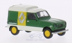 Modellauto - <strong>Renault</strong> R4 Fourgonnette, Renault Motoculture<br /><br />Brekina, 1:87<br />Nr. 210668