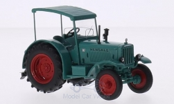 Modelcar - <strong>Hanomag</strong> R40, green, with canopy<br /><br />Schuco, 1:43<br />No. 211405