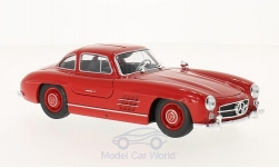 Modelcar - <strong>Mercedes</strong> 300 SL (W198), red<br /><br />Welly, 1:24<br />No. 211484