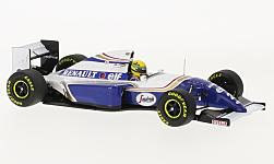 voiture miniature - <strong>Williams</strong> Renault FW16, No.2, formule 1, GP Brésil, Ayrton Senna Collection, A.Senna, 1994<br /><br />Minichamps, 1:43<br />N° 212101