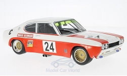 voiture miniature - <strong>Ford</strong> Capri RS 2600, No.24, Ford Cologne, Lucky Strike, 9h Kyalami, avec Decals, D.Glemser/J.Mass, 1971<br /><br />Minichamps, 1:18<br />N° 212286