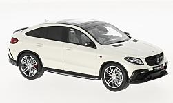 Modellauto - <strong>Brabus</strong> 850 4x4 Coupe, weiss, Basis: M.B. GLE 63 S, 2016<br /><br />Minichamps, 1:43<br />Nr. 212366