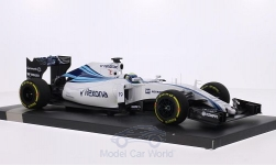 voiture miniature - <strong>Williams</strong> Mercedes FW37, No.19, Martini Racing, Rexona, formule 1, GP Abu Dhabi, F.Massa, 2015<br /><br />Minichamps, 1:18<br />N° 212388