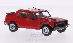 Modelcar - <strong>Lamborghini</strong> LM 002, red, 1986<br /><br />IXO, 1:43<br />No. 212662