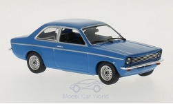Modellauto - <strong>Opel</strong> Kadett C, blau, 1974<br /><br />Maxichamps, 1:43<br />Nr. 212689