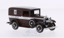 Modellauto - <strong>Ford</strong> Model A Livery, braun, U.S.Mail, 1931<br /><br />Motorhead, 1:43<br />Nr. 213124