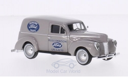 ModelCar - <strong>Ford</strong> Panel Van, hellgrau, Ford Genuine Parts, 1940<br /><br />Motorhead, 1:43<br />No. 213125