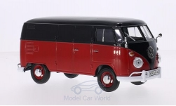 ModelCar - <strong>VW</strong> T1 Kasten, schwarz/rot<br /><br />Motormax, 1:24<br />No. 213150