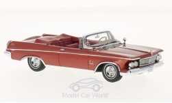 Modellauto - <strong>Imperial</strong> Crown Convertible, metallic-rot, 1963<br /><br />Neo, 1:43<br />Nr. 213156