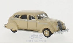 Modelcar - <strong>Chrysler</strong> Airflow, beige, 1936<br /><br />BoS-Models, 1:87<br />No. 213604