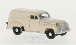 Modellauto - <strong>Opel</strong> Olympia Kastenwagen, beige, 1951<br /><br />BoS-Models, 1:87<br />Nr. 213605