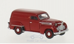 Modellauto - <strong>Opel</strong> Olympia Kastenwagen, dunkelrot, 1951<br /><br />BoS-Models, 1:87<br />Nr. 213606