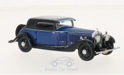 Modelcar - <strong>Rolls Royce</strong> Phantom II Continental Windovers Coupe, blue/dark blue, 1932<br /><br />Neo, 1:43<br />No. 213618