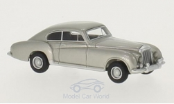 Modelcar - <strong>Bentley</strong> R-Type Continental Franay, silver, 1954<br /><br />BoS-Models, 1:87<br />No. 213629