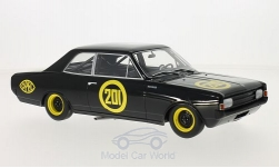 voiture miniature - <strong>Opel</strong> record C, No.201, Schwarze Witwe, 1967<br /><br />BoS-Models, 1:18<br />N° 213633