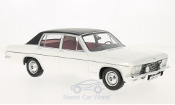 Modellauto - <strong>Opel</strong> Admiral B, weiss/schwarz, 1971<br /><br />BoS-Models, 1:18<br />Nr. 213639