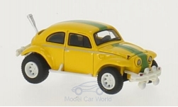 Modelcar - <strong>VW</strong> Baja Bug, yellow/green, 1969<br /><br />BoS-Models, 1:87<br />No. 213641