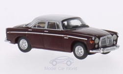 Modelcar - <strong>Rover</strong> P5B Coupe, dark red/light grey, RHD, 1967<br /><br />BoS-Models, 1:87<br />No. 213689