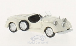 Modelcar - <strong>Mercedes</strong> 150 (W30) Sport Roadster, light beige, 1935<br /><br />BoS-Models, 1:87<br />No. 213697