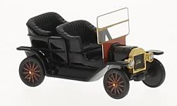 Modelcar - <strong>Ford</strong> T-Model Touring, black, 1909<br /><br />BoS-Models, 1:87<br />No. 213698