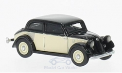 Modelcar - <strong>Mercedes</strong> 130 (W23), black/beige, 1934<br /><br />BoS-Models, 1:87<br />No. 213728