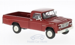 ModelCar - <strong>Dodge</strong> W200 Power Wagon, rot, 1964<br /><br />Neo, 1:43<br />No. 213731