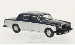 Modelcar - <strong>Bentley</strong> T2, dark blue/grey, RHD<br /><br />Oxford, 1:76<br />No. 213899