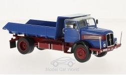 Modellauto - <strong>IFA</strong> H6, blau/rot, Kipper, 1957<br /><br />IST Models, 1:43<br />Nr. 213961