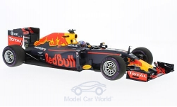 Modellauto - <strong>Red Bull</strong> Tag Heuer RB12, No.3, Red Bull Racing Formula One Team, Red Bull, GP Monaco, D.Ricciardo, 2016<br /><br />Minichamps, 1:18<br />Nr. 214085