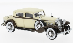 Modelcar - <strong>Stutz</strong> DV32 Monte Carlo Sedan by Weymann, beige/brown, 1933<br /><br />Neo, 1:43<br />No. 214149