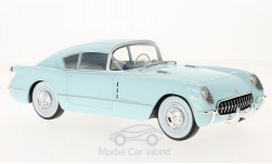 Modellauto - <strong>Chevrolet</strong> Corvette Corvair Concept, lichtblauw, 1954<br /><br />BoS-Models, 1:18<br />Nr. 214154