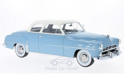 Modellauto - <strong>Dodge</strong> Coronet Club Coupe, hellblau/weiss, 1952<br /><br />BoS-Models, 1:18<br />Nr. 214155