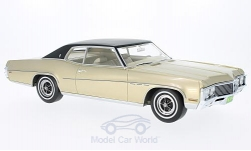 Modellauto - <strong>Buick</strong> LeSabre Custom Sport Coupe, metallic-beige/schwarz, 1970<br /><br />BoS-Models, 1:18<br />Nr. 214156