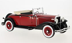 Modellauto - <strong>Dodge</strong> Eight DG Convertible, dunkelrot/schwarz, 1931<br /><br />BoS-Models, 1:18<br />Nr. 214161