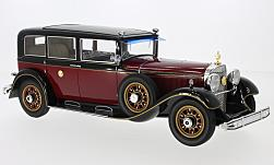 Modellauto - <strong>Mercedes</strong> Typ 770 Pullman-Limousine, rot/schwarz, Kaiser Hirohito, 1935<br /><br />CMF, 1:18<br />Nr. 214162