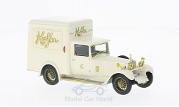Modelcar - <strong>Rolls Royce</strong> Twenty Park Ward Delivery Van, white, RHD, 1928<br /><br />Neo, 1:43<br />No. 214164