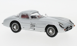 Modellauto - <strong>Mercedes</strong> 300 SLR Coupe Uhlenhaut (W196S), zilver, 1955<br /><br />IXO, 1:43<br />Nr. 214523