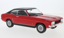 Modelcar - <strong>Ford</strong> Capri MKI 1600 GT, red/black, 1973<br /><br />MCG, 1:18<br />No. 214601