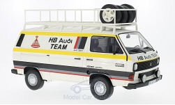 Modellauto - <strong>VW</strong> T3, HB Audi Team, Kastenwagen, 1980<br /><br />Premium ClassiXXs, 1:18<br />Nr. 214604