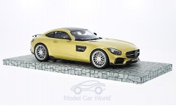 ModelCar - <strong>Mercedes</strong> Brabus 600, gold, Basis AMG GT S, 2016<br /><br />Minichamps, 1:18<br />No. 214719