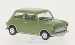 ModelCar - <strong>Morris</strong> Mini Minor, grün, RHD<br /><br />Wiking, 1:87<br />No. 214735