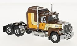 Modelcar - <strong>Ford</strong> LTL 9000, brown/Decorated, 1978<br /><br />Neo, 1:64<br />No. 214778