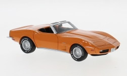 Modellauto - <strong>Chevrolet</strong> Corvette (C3) Convertible, orange, 1973<br /><br />Neo, 1:43<br />Nr. 214780