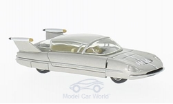 Modelcar - <strong>Borgward</strong> Traumwagen, silver, 1955<br /><br />BoS-Models, 1:87<br />No. 214781