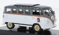 ModelCar - <strong>VW</strong> T1 Samba, weiss/grau, 1962<br /><br />Lucky Die Cast, 1:43<br />No. 214859