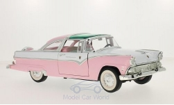 ModelCar - <strong>Ford</strong> Crown Victoria, rosa/weiss, 1955<br /><br />Lucky Die Cast, 1:18<br />No. 214860