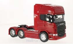 Modelcar - <strong>Scania</strong> R730 V8 (6x4), red<br /><br />Welly, 1:32<br />No. 214938
